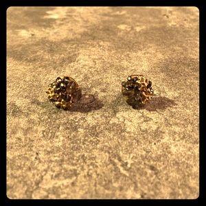 ModCloth Floral Stud Earrings